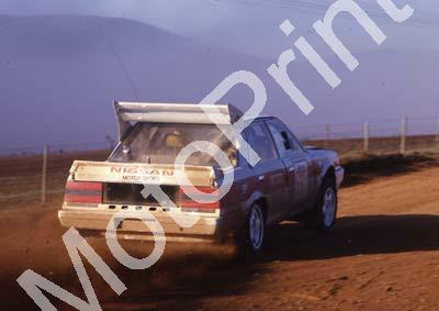 1988 Nissan Intnl 1 Hannes Grobler, Piet Swanepoel Skyline 4WD (courtesy Roger Swan) (2)