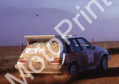 1988 Nissan Intnl 2 Serge Damseaux, Vito Bonavede Conquest 4WD(courtesy Roger Swan) (2)