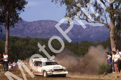 1988 Nissan Intnl 2 Serge Damseaux, Vito Bonavede Conquest 4WD(courtesy Roger Swan) (6)