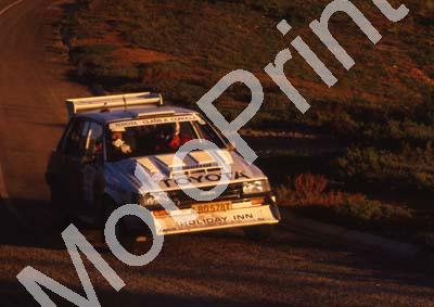 1988 Nissan Intnl 2 Serge Damseaux, Vito Bonavede Conquest 4WD(courtesy Roger Swan) (11)