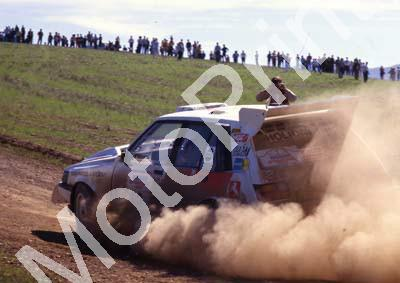 1988 Nissan Intnl 2 Serge Damseaux, Vito Bonavede Conquest 4WD(courtesy Roger Swan) (15)