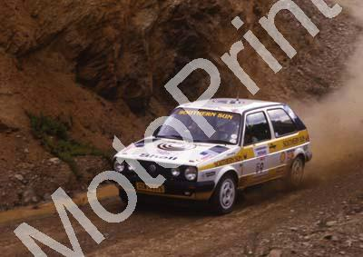 1988 Nissan Intnl 9 Glyn Hall, Martin Botha VW Golf 16V (courtesy Roger Swan) (9)