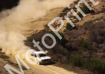 1988 Nissan Intnl 9 Glyn Hall, Martin Botha VW Golf 16V (courtesy Roger Swan) (10)