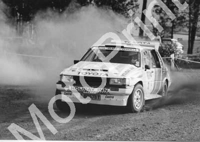 1988 Toyota Dealer Rally 2 Serge Damseaux, Vito Bonafede Toyota (Courtesy R Swan) (1) - Click Image to Close
