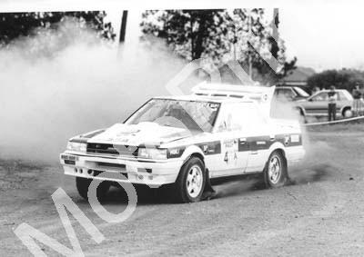 1988 Toyota Dealer Rally 4 Hannes Grobler, Piet SWanepoel Skyline (Courtesy R Swan) (11) - Click Image to Close