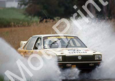 1988 Toyota Dealer Rally 6 Nic de Waal Guy Hodgson Passat Synchro(Colin Watling Photographic) (5)