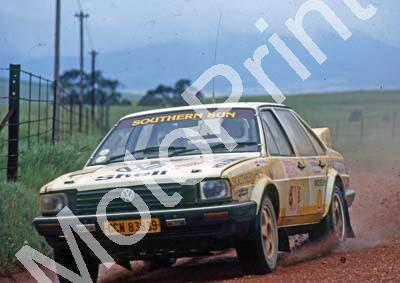 1988 Toyota Dealer Rally 6 Nic de Waal Guy Hodgson Passat Synchro(Colin Watling Photographic) (6)