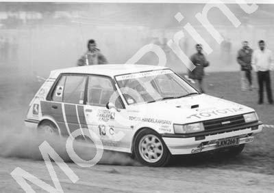 1988 Toyota Dealer Rally 13 Glen Gibbons, Peter Cuffley Toyota (Courtesy R Swan) (3)