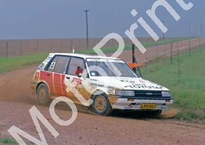 1988 Toyota Dealer Rally 13 Glen Gibbons, Peter Cuffley Toyota (Courtesy R Swan) (4)