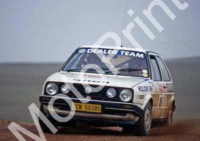 1988 Toyota Dealer Rally 16 Frank Lindermann, Johan Sieling Golf (Colin Watling Photographic) (8)
