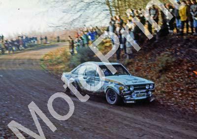 1976 RAC 1 Timo Makinen, Henry Liddon Escort RS1800 NOTE DAMAGE (courtesy Roger Swan) (54)
