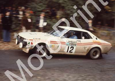 1976 RAC 12 Jean-Luc Therier, Michel Vial Toyota Celica 2000 (courtesy Roger Swan) (75)