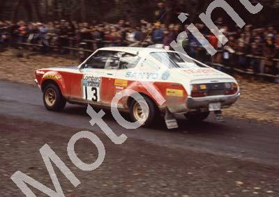 1976 RAC 13 Harry Kallstrom, Geraint Phillips Datsun 160J (courtesy Roger Swan) (5)