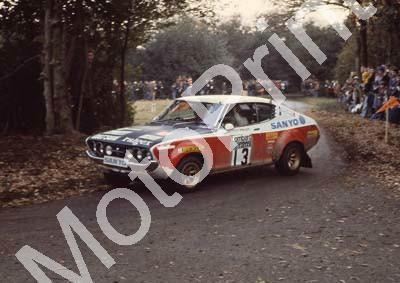 1976 RAC 13 Harry Kallstrom, Geraint Phillips Datsun 160J (courtesy Roger Swan) (6)