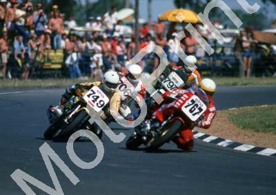 1982 Killarney MC 749 Jamie Thomas Suzuki 767 Dave Petersen Ducati Pantah (Colin Watling Photographic) (7)