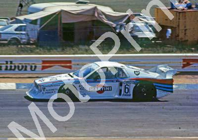 1981 9 Hr 6 Michele Alboreto, Emanuele Pirro Lancia Monte Carlo SOME BLEMISHES (Colin Watling Photographic) (1)