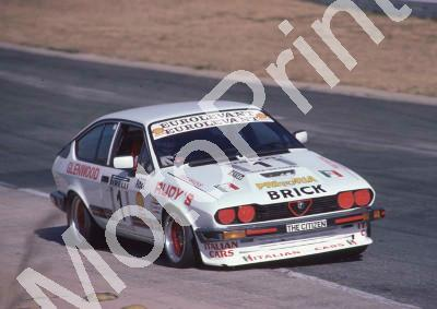 1983 Kya Gp1 1 Abel d Oliviera Alfa GTV6 year check (Colin Watling Photographic) (6)