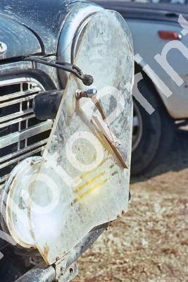 1969 Volvo lights shield and wiper