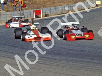 1975 Kya Republic 15 Tony Martin Chevron B20 7 Mike Domingo Brabham BT33 11 Roy Klomfass Chevron B25 (Ben van Rensburg) (5)