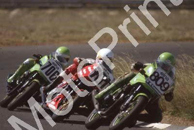 1983 Welkom Elna 809 Glenn Williams Kawasaki ZX750 701Dave Petersen Honda VF750 706 Jamie Thomas Kawasaki ZX750 (Colin Watling Photographic) (7)