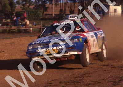 1991 VW Intnl 1 Hannes Grobler, Piet Swanepoel Sentra check year (courtesy R Swan) (11)