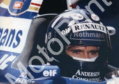 1995 French Damon Hill Williams FW17