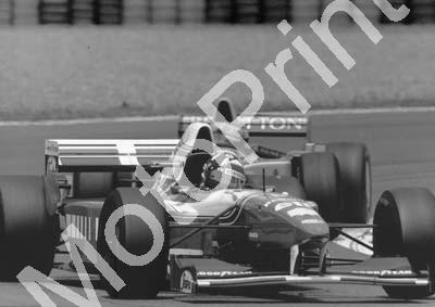 1995 French Magny Cours Damon Hill Williams FW17