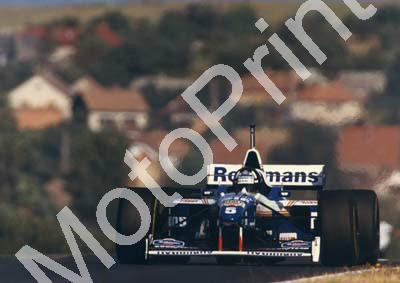 1996 Hungarian GP Damon Hill Williams FW18 469