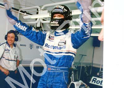 1996 Portuguese Damon Hill Williams FW18