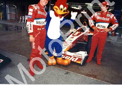 1999 Spanish Ralf Schumacher, cartoon duck, Alex Zanardi FW21 (11)
