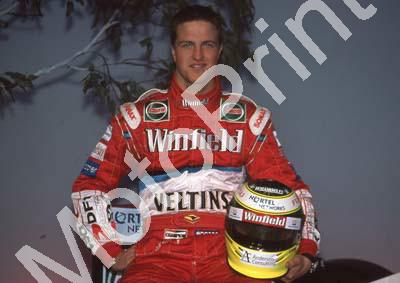 1999 At team launch Ralf Schumacher Williams FW21 (20)