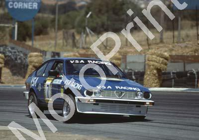 1983 Kya Lodge 2 Hr T7 Nicola Bianco, Derek Bell Alfa GTV6 (Colin Watling Photographic) (5)