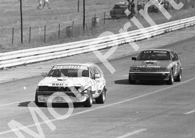 1984 Kya GP1 1 Abel d Oliviera Alfa NOTE DAMAGE 14..... (Colin Watling Photographic) (9)