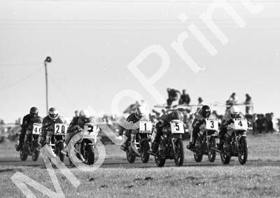 1984 EL Brut GP MC 20 Thomas 7 D Petersen 1 Gray 5 Van Aswegen 3 Hiscock 4 Heasman (Colin Watling Photographic)Killarney MC844 (2)