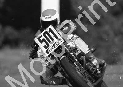 1984 EL Brut GP MC 501 Rob Petersen Honda (Colin Watling Photographic) (108) - Click Image to Close