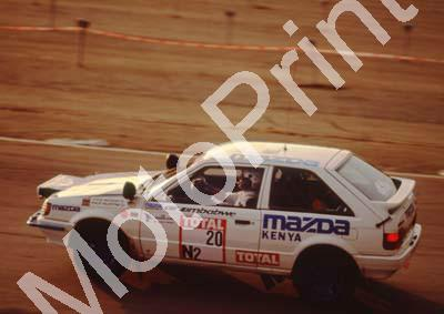 1992 Total Intnl 20 Steve Anthony, Philip Valentine Mazda (courtesy R Swan) (21)