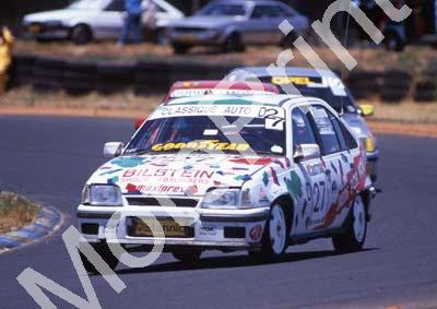 1993 Castrol 9 hr 27 Vaughn Williams, Bruce Morgan Opel GSi (courtesy Roger Swan) (87)
