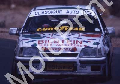 1993 Castrol 9 hr 27 Vaughn Williams, Bruce Morgan Opel GSi (courtesy Roger Swan) (91)