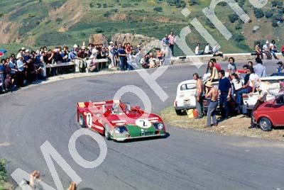 Alfa 33TT3 crashed lap1 Elford