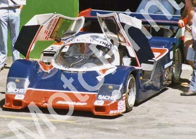Walter Lechner Franzmaier 962 Porsche 5th Yellow Pages 500 (Thanks to Colin Burgess)