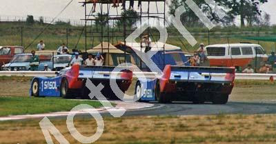 Ludwig and Wollek Porsche 962s cropped Yellow Pages 500 (Thanks to Colin Burgess)