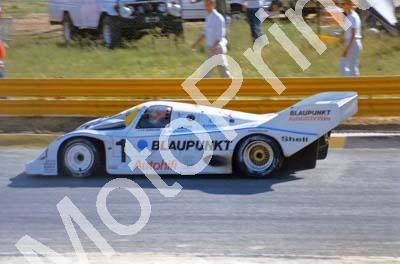 1986 Ghinzani Porsche 956 Southern Suns 500 (Thanks to Colin Burgess)