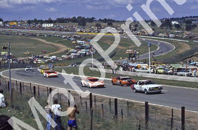(thanks to Stuart Falconer) a 694 1979 Wynns 1000 Start with pace car; Watson Mass; Surer Van Rooyen