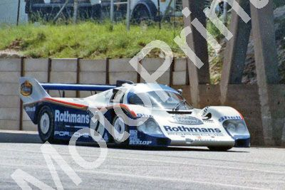 (thanks to C Burgess) 1983 Castrol 9 hr Bell Belhof Porsche 956