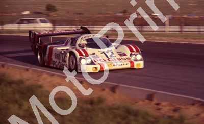 (thanks to Stuart Falconer) a 892 83 Castrol 1000 practice Porsche 956 PG Glass Schornstein Winter