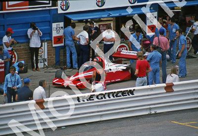 (thanks Stuart Falconer) a 602 1978 SA GP pits Lauda BT46-4 BC Ecclestone far left