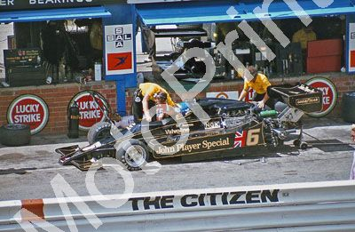 (thanks Stuart Falconer) a 609 1978 SA GP Peterson Lotus 78 JPS16