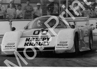1984 March Porsche 84G Kreepy Krauly caption 'to be built in Jhb'