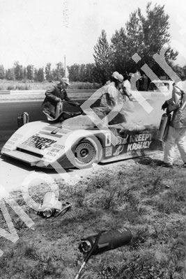 1984 March Porsche 84G Kreepy Krauly Sarel vd Merwe, fire Portland