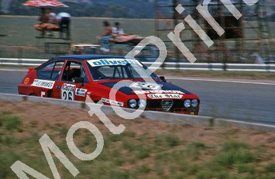 (thanks Colin Burgess) 1981 Castrol 9hr Alfa GTV Bianco T Claasens (13)